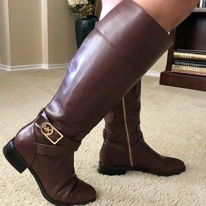 Authentic Michael Kors Mocha Bryce Tall Boots